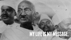 Mahatma Gandhi♥