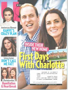 William Kate First Days With Charlotte US Magazine May 25, 2015 Selena Gomez #doesnotapply