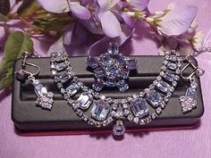$55-bin-ebay-This is a good price for an entire set.The necklace alone is worth that, and what a statement piece.