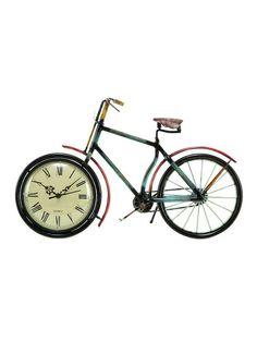 Bicycle Clock by UMA at Gilt @Amanda Kopet