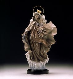 Lladro Virgin of Carmen.  The most beautiful image of Our Lady.