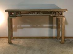 Vintage Baker Console Table