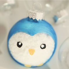 Handpainted Christmas Ornaments and 50+ roundup @savedbyloves