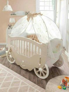 Use this Disney Cinderella's crib in your home decor!