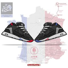 """Awesome artwork by our mate @piantoni7  Thanks for your lovely Miniprint of our @lecoqsportif R1000 """"Grand Depart"""". Cheers mate"""