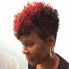Natural and on fire. Salon PK Jacksonville, FL