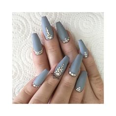 Girl Check Out My Nails* ❤ liked on Polyvore featuring beauty products and nail care