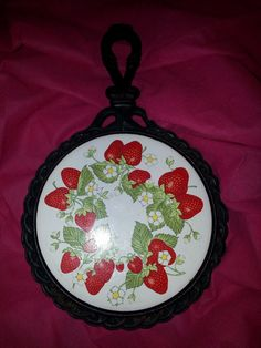 Vintage Strawberries Trivet by sweetsexythe2ndtime on Etsy, $12.00