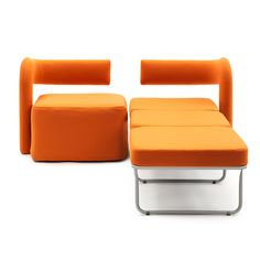 Chair bed VIRGOLA - Giulio Manzoni   Sofa bed Campeggi s.r.l