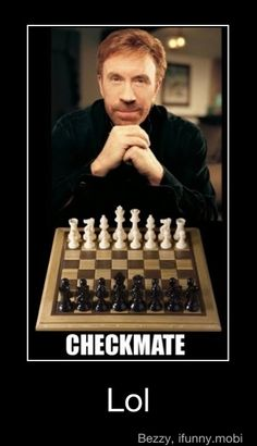against chuck norris its over before it ever began