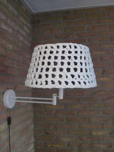 114 best crochet lampshade images on pinterest lampshades crochet patroon zpagetti lampenkap whats behind greentooth Images