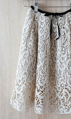 adorable lace skirt!