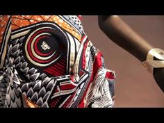 ▶ Vlisco K(r)oningsdoek - YouTube