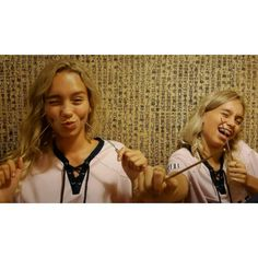 Lisa and Lena holiday picture