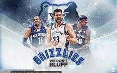 Memphis Grizzlies 'Team' Wallpaper | Posterizes.com - NBA Wallpaper Artwork