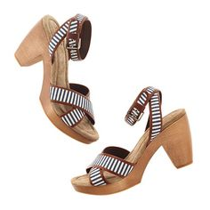 The Striped Journal Sandal from Madewell