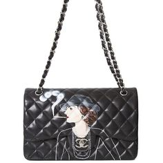 Chanel Hand-Painted Pop Art Bag ❤