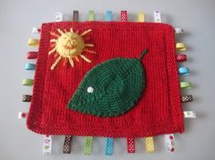 Hand knitted Very Hungry Caterpillar by AniramCreates on Etsy, £15.00