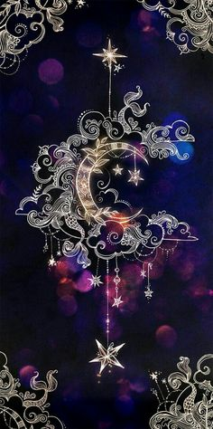 crescent moon, mandala drawings, backgrounds for girls, purple background Cute Backgrounds, Wallpaper Backgrounds, Wallpaper Ideas, Phone Wallpapers, Cute Wallpapers, Natur Wallpaper, Painting Wallpaper, Image Clipart, Galaxy Wallpaper