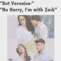 Zayn: It's Zayn Veronica: Whatever you say, Zack One Direction Humor, One Direction Pictures, One Direction Imagines, 1d Imagines, I Love One Direction, 0ne Direction, Veronica, Harry Styles, Anne With An E