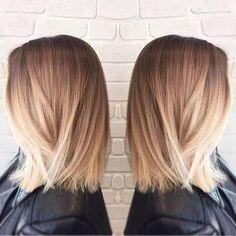 balayage medium straight hair - Google Search                                                                                                                                                                                 More