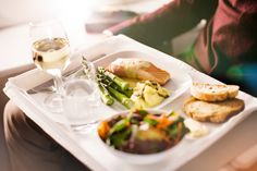 With menus changing frequently to accommodate seasonal tastes & flavors, you can look forward to fresh & delicious food every time you're on board. Fly Around The World, Business Class, Menu, Yummy Food, Air Travel, Fresh, Jet Set, Kit, Board