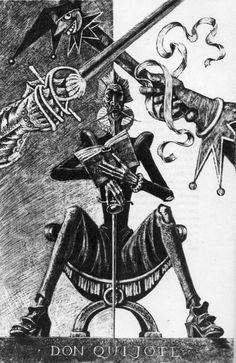 "Savva Brodsky illustration for Cervantes ""Don Quixote"". Man Of La Mancha, Dom Quixote, Don Miguel, Literary Characters, Happy Wishes, Chivalry, Russian Art, Illustration Artists, Mosaic Art"