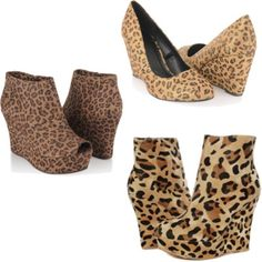 Wedges,i love a little tackiness :)
