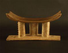 Asante Mwa Dwa Ghana Stool #139 | Ashanti/Asante Stools | Stools / Chairs — Deco Art Africa - Decorative African Art - Ethnic Tribal Art - A...