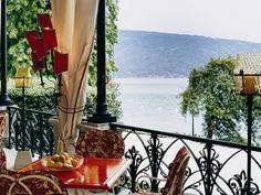 Mit Seeblick: Die Terrasse der Villa Feltrinelli