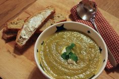 A Little Bit Greedy: Soup and bread to soothe the soul: celeriac and bl...