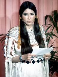 Image result for marlon brando apache indian acceptance speech