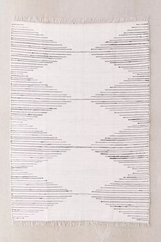 Shop Connected Stripe Rag Rug at Urban Outfitters today. Jute Rug, Woven Rug, Leaning Bookshelf, Leaning Mirror, Funny Welcome Mat, Chiffon, Classic Rugs, Beaded Curtains, Curtain Patterns