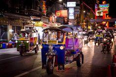China Town de nuit à Bangkok