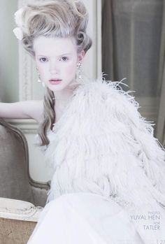 i'm having a marie antoinette moment: hannah haney and holly f by yuval hen for tatler uk february 2012 Bal A Versailles, Fashion Bubbles, Rococo Fashion, Ice Princess, Winter Princess, Kirsten Dunst, Ice Queen, Snow Queen, Madame