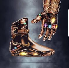 Artist Jeff Cole Creates Awesome Pop Culture Character and Nike Shoe Design Mashups Zapatillas Jordan Retro, Futuristic Shoes, Marvel Shoes, Nike Air Mag, Light Up Shoes, Sneaker Art, Hype Shoes, Men With Street Style, Fresh Shoes