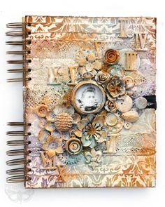 Frozen in Time - journal cover class peek