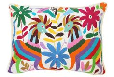 Multicolor Otomi Pillow XIII