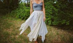 How to DIY the Ultimate Boho Skirt