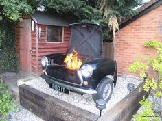 My grill, my grill...Austin Mini Cooper