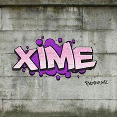 graffitis ximena - Buscar con Google