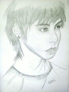 Pencil Sketch of Boy