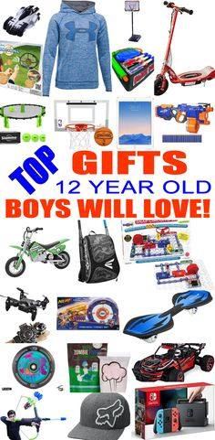 Christmas gift ideas for 12 year old son