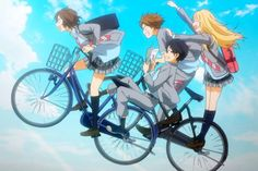 Basic information about Your Lie in April Alternative Titles: Your Lie in April, Shigatsu wa Kimi no Uso Episodes: 22 episodes+OVA Studio: Pictures Premiered: Fall 2014 Aired: Oct 2014 to Mar 2015 Genre: Manga Anime, Top 5 Anime, Sad Anime, Me Me Me Anime, Anime Art, Hikaru Nara, Manhwa, Danshi Koukousei No Nichijou, 2014 Anime