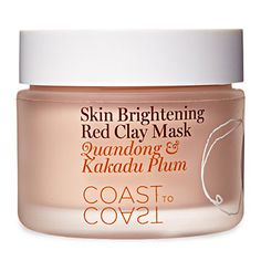 Coast to Coast Skin Brightening Red Clay Mask with Quandong and Kakadu Plum