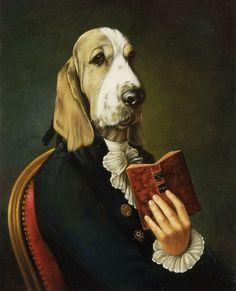 Pinzellades al món: Els gossos en l'art / Los perros en el arte / Dogs in art
