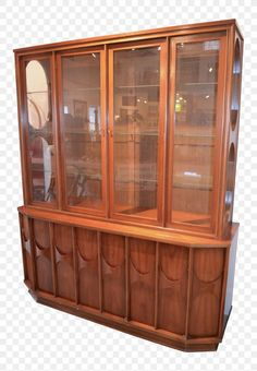 Mid-Century Modern Kent Coffey Perspecta China Cabinet - Image 1 of 7