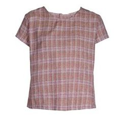 Onion Pink Checked Top