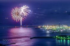 """Fireworks in a blue sky Go to http://iBoatCity.com and use code PINTEREST for free shipping on your first order! (Lower 48 USA Only). Sign up for our email newsletter to get your free guide: """"Boat Buyer's Guide for Beginners."""""""