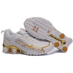 d9ecad203279 104265 030 Nike Shox R4 White Gold J09083